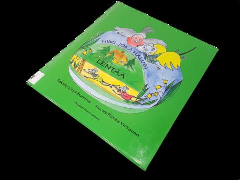 Lasten kierrätyskirja (Virpi Summa - Hiiri joka halusi lentää)