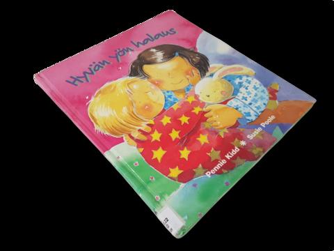 Lasten kierrätyskirja (Pennie Kidd - Hyvän yön halaus)