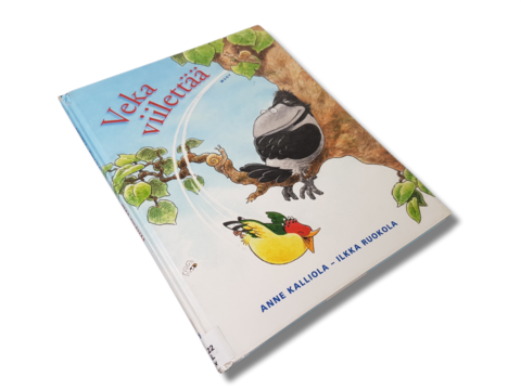 Lasten kierrätyskirja (Anne Kalliola - Veka viilettää)