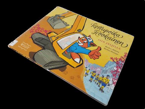 Lasten kierrätyskirja (Markus Mäkelä - Kettupoika Hookainen isin jäljillä)