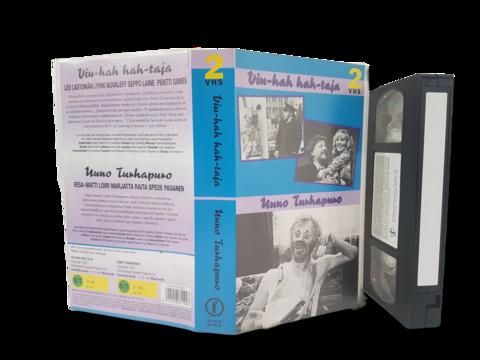 VHS-elokuva (Finnkino 2-VHS : Viu-hah hah-taja - Uuno Turhapuro)