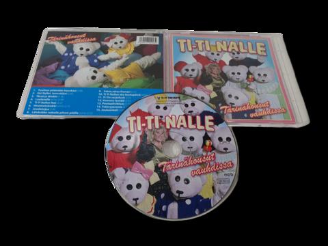 CD -levy (Ti-Ti Nalle - Tärinähousut vauhdissa)