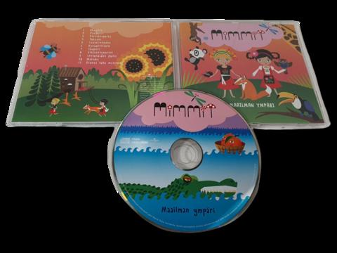 CD -levy (Mimmi - Maailman Ympäri)