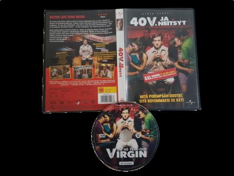 DVD -elokuva (40 v. ja neitsyt) K16