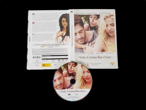 DVD -elokuva (Vicky Cristina Barcelona) K12
