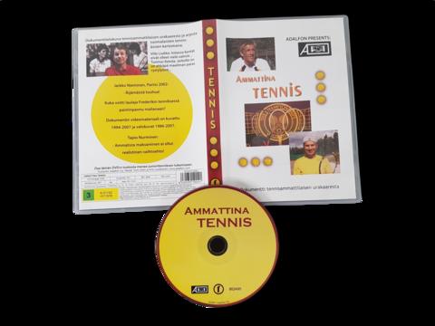DVD -elokuva (Ammattina tennis - Dokumentti tennisammattilaisen urakaaresta) S