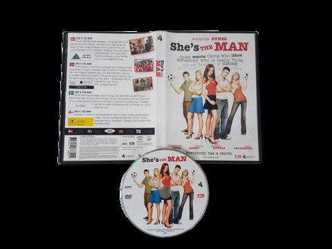 DVD -elokuva (She´s The Man) K7