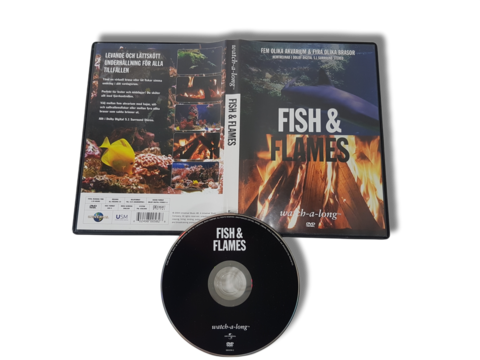 DVD -elokuva (Fish & Flames tunnelmalevy)