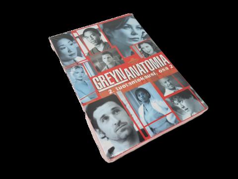 DVD -televisiosarja (Grayn anatomia, 2. tuotantokausi, osa 2) K12