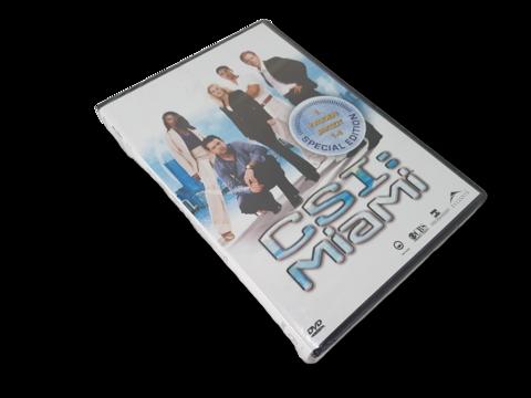 DVD -televisiosarja (CSI: Miami, 1. kauden jaksot 1 - 4 Special Edition) K16