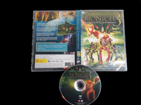 Lasten DVD-elokuva (Bionicle 3 - Varjojen verkko) K7