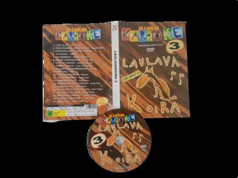 Musiikki -DVD (Laulava koira 3 - 20 Karaoke laulua) S