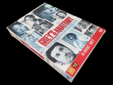 DVD -televisiosarja (Greyn anatomia - Toinen tuotantokausi) K12