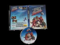 Lasten DVD -elokuva (Space Chimps) K7