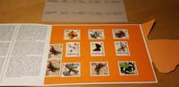 11 kpl perhosia postimerkkejä