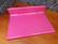 Pinkki kannettavan alusta (Ikea)
