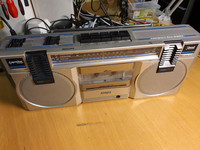 Vintage boombox (Philips D 8117)