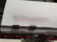Vintage kirjoituskone (Adler)
