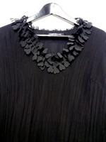 Naisten vintage. NP collection juhla-asu, hame, huivi ja paita. Koko 40