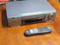 Hifi VHS -nauhuri (JVC HR-J711UH)