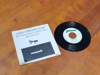LP -single levy (Juice Leskinen Slam – Kettusen Pekka Ja Happosen Marja single)