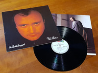 LP -levy (Phil Collins – No Jacket Required)