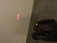 Projektorikello (Biltema)