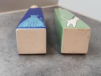 Kaksi koristapulloa (J. Sarparanta)