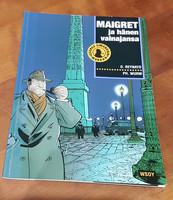 Sarjakuvakirja (O. Raynard, PH. Wurm - Maigret ja hänen vainajansa)