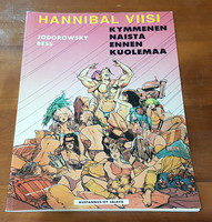 Sarjakuvakirja (Jodorowsky Bess - Hannibal Viisi - Kymmenen naista ennen kuolemaa)