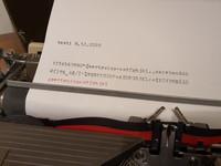 Vintage kirjoituskone (Abc 2000 S)
