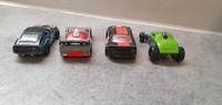 Neljä pikkuautoa (Hot Wheels) #2