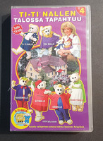VHS-elokuva (Ti-Ti Nallen talossa tapahtuu 4)