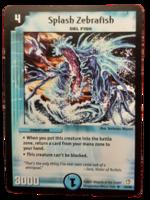 DuelMasters keräilykortti - Splash Zebrafish (Dm-05)