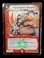 DuelMasters keräilykortti - Pyrofighter Magnus (Dm-05)