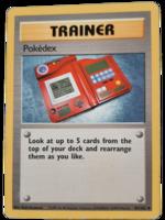 Pokemon kortti Pokedex 87/102  (Base Set)