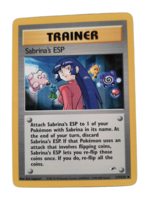 Pokemon kortti Sabrina's ESP 117/132  (Gym Heroes)