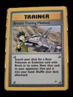 Pokemon kortti Brock's Training Method  106/132  (Gym Heroes)