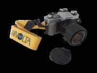 Filmikamera (Minolta XG 9)