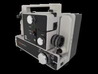 8 mm filmiprojektori (Mark 610 D)