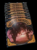LP -levy kokoelma (Popular Hits From Nashville)
