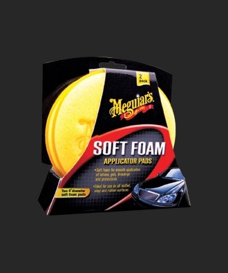 Meguiar's Soft Foam Applicator Pad vahan levityssieni 2-Pack