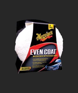 Meguiar's Even Coat Microfiber Applicator Pads 2-Pack