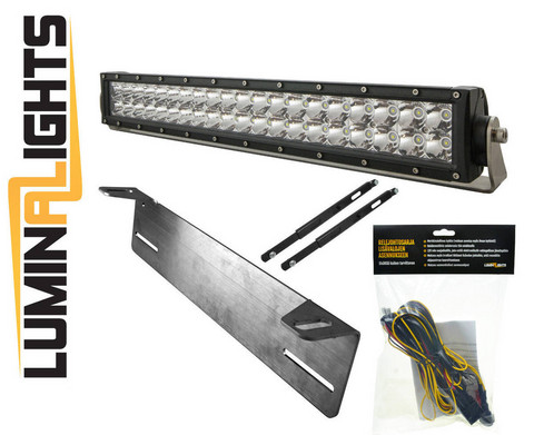 LED-lisävalo, LuminaLights Striker 560, PAKETTINA!