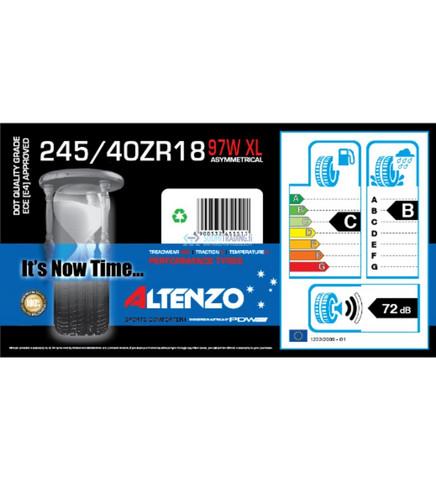 Altenzo Sports Comforter+ 245/40ZR18 97W XL kesärengas, 4kpl