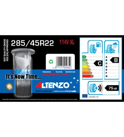 Altenzo Sports Navigator 285/45R22 114V XL kesärengas, 4kpl