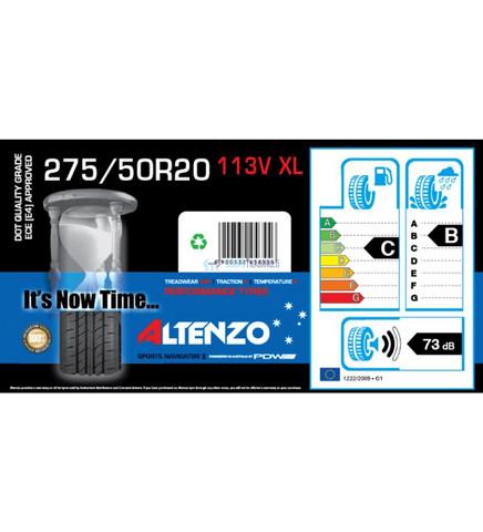 Altenzo Sports Navigator2 275/50R20 113V XL kesärengas, 4kpl