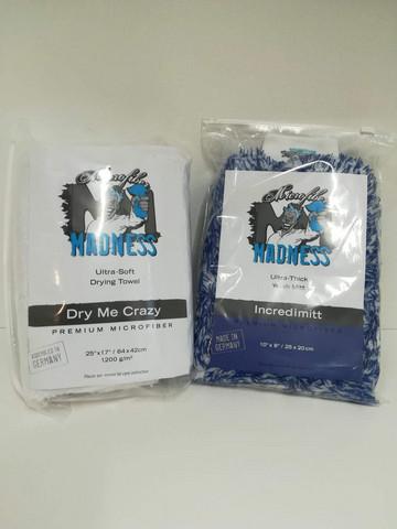 Microfiber Madness pesukinnas + kuivausliina