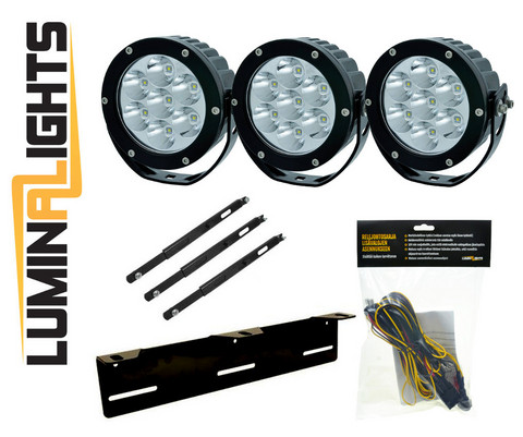 Lisävalopaketti LuminaLights X35, Premium X3