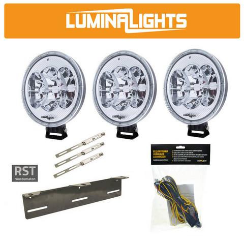 Lisävalopaketti LuminaLights Night Reaper 7, Premium X3